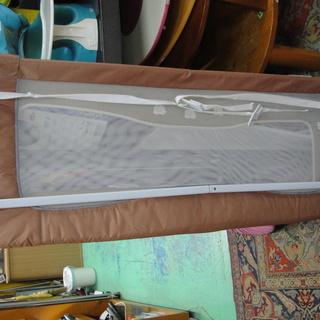ベビーフェンス ベッドガード ベッドメッシュガード 日本育児 140cm 18カ月から ベビー用品 子供用品 - 札幌市