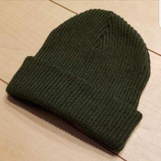 新品キッズニット帽