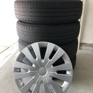 ダイハツ 純正ホイール タイヤ 4本セット 155/65R14