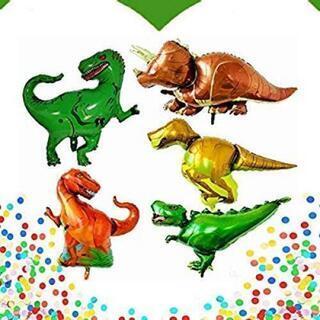 恐竜風船 誕生日用風船 男の子 デコレーション