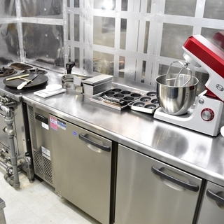 菓子製造許可付シェアキッチン「茶茶カフェ」会員募集中