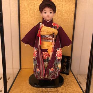 市松人形の画像