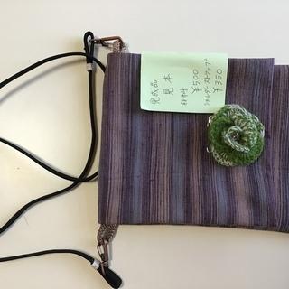 着物リメイク教室 👘 簡単なポシェット/カードケース