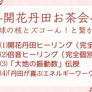 開花丹田お茶会〜地球の核にズコーん!と繋がる〜