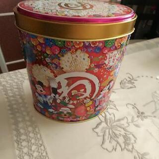 ディズニーリゾート チョコレートクランチ缶のみ 干支バージョン