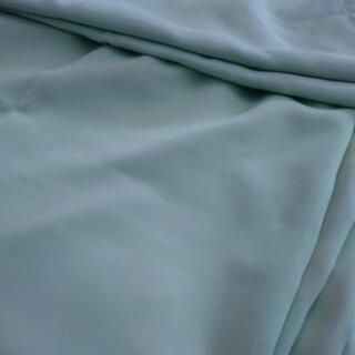 カーテン2枚 シャーベットグリーン