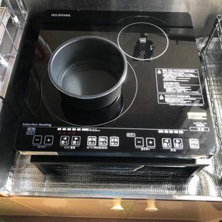 【引き渡し者決定】IHクッキングヒーター アイリスオーヤマIHC-S212V-Bの画像