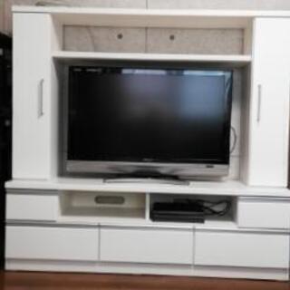 ニトリの白いテレビボード