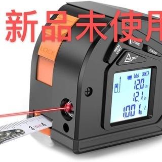 新品・未使用 レーザー距離計 巻尺 測り メジャー5m レーザー40m