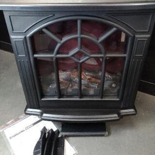 暖炉型ファンヒーター 電気 1200W - 菊池郡