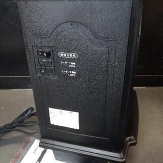 暖炉型ファンヒーター 電気 1200W - 家電