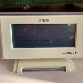 CITIZEN製 置時計
