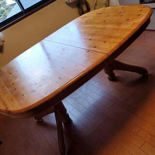 伸縮できるテーブル(決まりました)