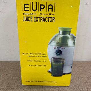 エイブイ:EUPA ユーパ ジューサー TSK-9811 未使用品