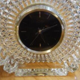 HOYA クリスタル置き時計