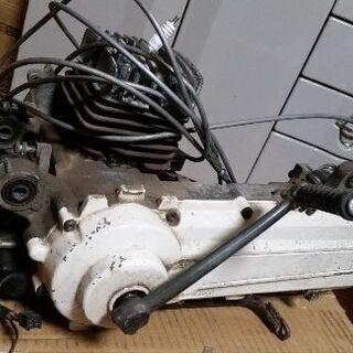 ヤマハ パッソル 2E9 実働車エンジン