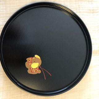 象彦 漆器 丸盆(小)