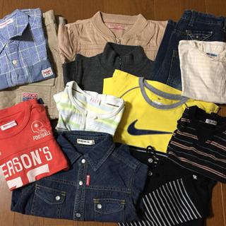 フリマ 男の子服 70〜160 ブランド品多数 新品あり 帽子・...