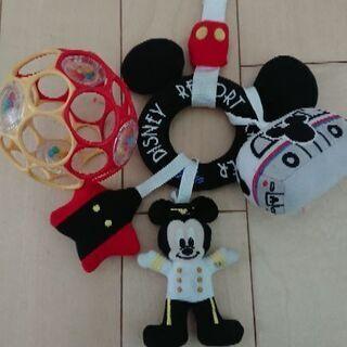 オーボール ベビーカー おもちゃ ディズニー