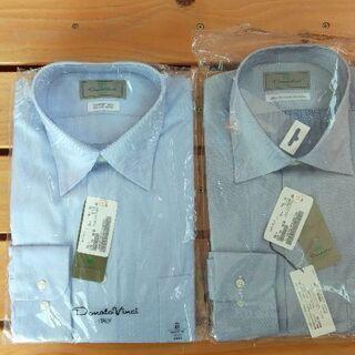 お値下げ 未開封 長袖ワイシャツ 41 78-80 2枚組