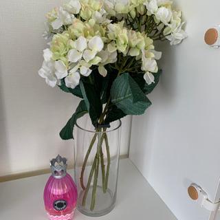 フェイクグリーン✨アジサイ花瓶セット✨造花