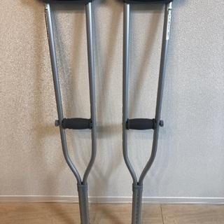 松葉杖(屋内のみで使用)  ナビス HC2081T 2本1組 適...