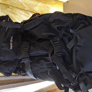 【美品未使用】バックパック・ホークギア80L 大型リュックで旅行...