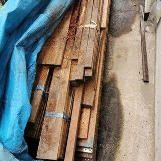 不使用となった材木