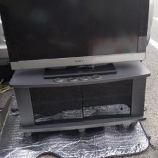 32型液晶テレビ(テレビ台付)