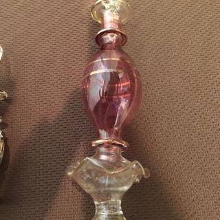 エジプト 香水瓶 ガラス製