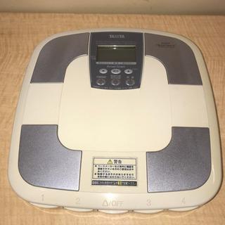 【262】TANITA・体重計・内臓脂肪・体内年齢・骨量