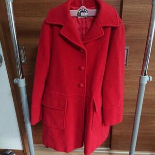 レディースコート赤