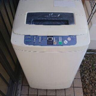 ハイアール 4.2kg 全自動洗濯機 14年製 並~並下