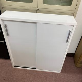 ◆新品未使用 永野家具大量入荷しました!調薄型引き戸収納棚