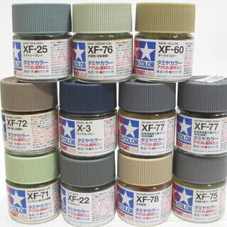 ☆無料☆地元のみ発送不可☆タミヤカラー アクリル塗料ミニ 11個...