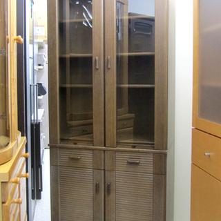コスガ 高級食器棚 キッチン収納 大きめ キッチン棚☆ P…