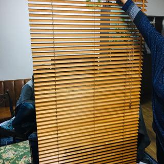 DIY ウッド ブラインド 木製 大 ①