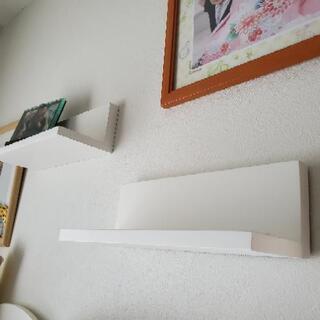 【IKEA製 】壁取り付け棚 2個セット