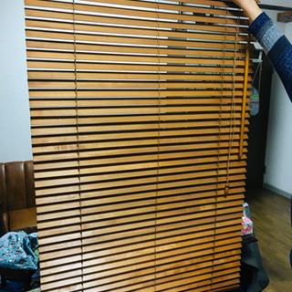 DIY ウッド ブラインド 4つまとめて 木製 ②