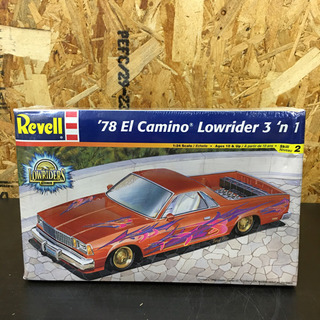 ◎ Revell '78 El camino Lowrider ...