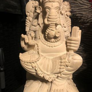 アジアン バリ島 ガネーシャ石像