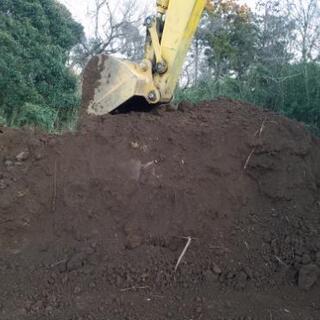 赤・黒 山土 残土 埋め立て、家庭菜園等々に!
