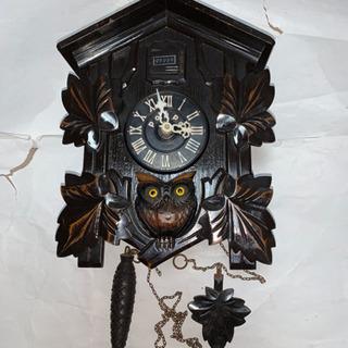 昭和レトロ、ハト時計、ジャンク品