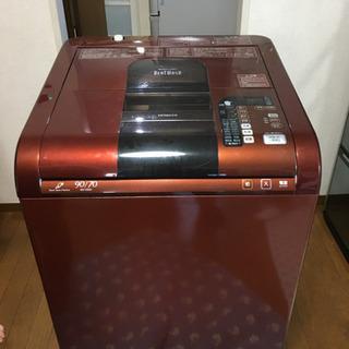 HITACHIのBEAT WASH 洗濯乾燥機が無料!