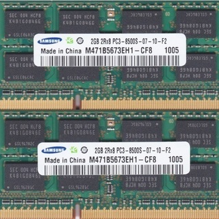 SAMSUNG PC3-8500S DDR3 1066 4GB ...