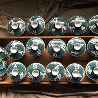 蓋つき煮物碗 瀬戸物 15個