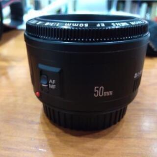 キャノン 単焦点レンズ 50mm