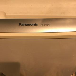 冷蔵庫0円 Panasonic NR-B172W 172L
