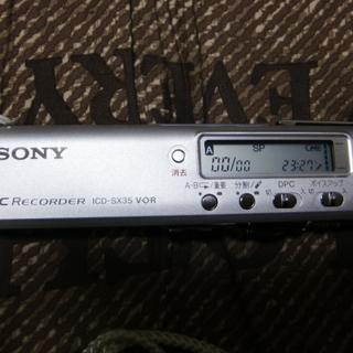 ソニー ICレコーダー ICD-SX35 美品レベル
