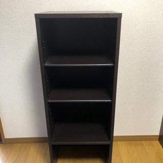 【無料】四段カラーボックス